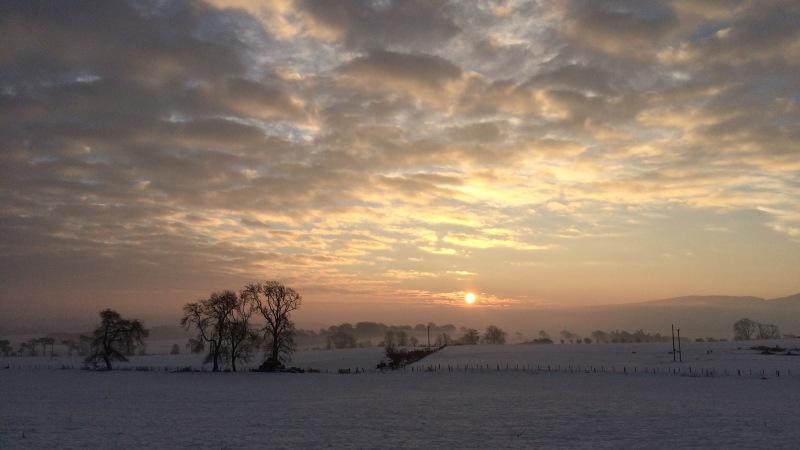 Frozen Scotland